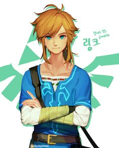 I know you do a lot of drawing requests, and I apolgize to keep asking for more requests. You are just so stinking good!! Whenever you have the time, do you mind drawing Link for me here?? Merci beaucoup :) <3