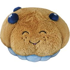 Squishable Blueberry Muffin! A delicious pastry to hug and cuddle! #squishable #muffin #plush