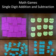 Are your students struggling with addition and subtraction?Do you need more math games and puzzles for younger learners?I wrote this for my son, and he loves the activities. After mastering these activities your students will fluent in addition and subtraction with single digit numbers****************************************You may also enjoy these math lessonsI Have Who Has Integers.Mixed Numbers and Improper Fractions.Fractions and…