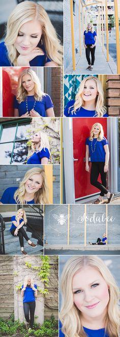 Utah Senior Portraits Poses - Sarah - Sodabee Photography   Downtown Salt Lake