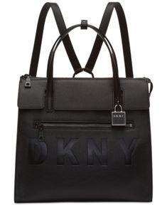 753fd42dc862df Dkny Commuter Convertible Backpack, Created for Macy's - Black Dkny Handbags,  Handbags On Sale