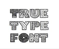 Retrograph font, digital typeface, hand sketched font, TTF, OTF