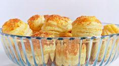 Mint a bolti, csak jobb - leveles sajtos pogácsa #pogácsa #sós #tészta #recept Naan, Sorbet, Muffin, Pizza, Yummy Food, Meals, Breakfast, Recipes, Morning Coffee
