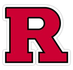 rutgers logo Sticker