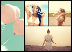 Fotor photo editor Template collage. This site lets you create photo collages for free and it's so easy to use!