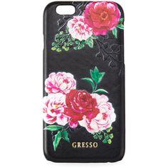 Gresso Victorian Garden iPhone 6/6S Case (570 MXN) ❤ liked on Polyvore featuring accessories, tech accessories and pink roses