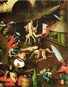 The Last Judgement (detail), Hieronymus Bosch