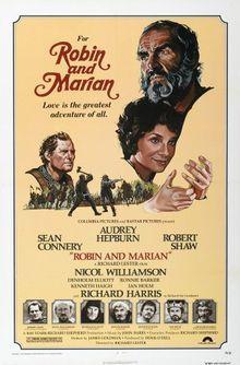 Robin and Marian 1976. Sean Connery Audrey Hepburn Robert Shaw and Ronni Barker(as Tuck) .
