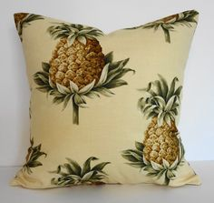 Your good luck charm.... Pineapple Throw Pillow Cover