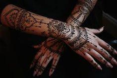 Indian Bridal Makeup- Mehndi Intricate Perfection!
