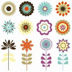 Gambar Bunga Kartun - Vector Bunga