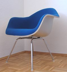 Fantastisch Fiberglas Armchair DAX   Low Base/Lounge Base   Hopsak Vollpolster    Charles And Ray Eames   Herman Miller Sehr Guter Zustand