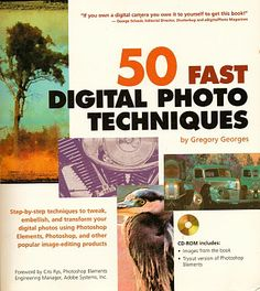 #50FastDigitalPhotoTechniques is an immensely useful book for anyone wanting to take advantage of photo-quality printers, digital cameras, Web technologies, Adobe's Photoshop, and other top photo editing apps.