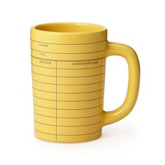 Library Card Mug for the Librarian
