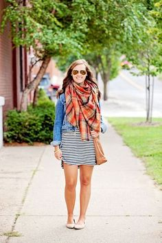 my everyday style: a summer dress in fall!