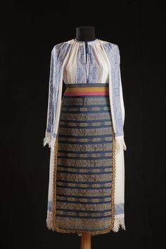 #RomanianBlouse -Banat. 1935. Marius Matei collection Carving, Textiles, Costumes, Blouse, Pattern, Folk, Traditional, Collection, Dresses