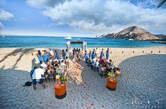 Hacienda Beach Club Wedding by Cabo Wedding Photographers Alec and T