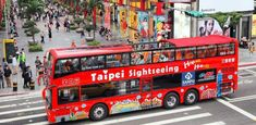 taipei hop on hop off bus review Taipei Travel Guide, Bus Map, Bubble Milk Tea, National Palace Museum, Taipei 101, Sightseeing Bus, Bus Tickets, Bus Travel, Forest Park