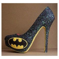 If You Love Batman, You Need To See These 10 Epic DIY Projects ❤ liked on Polyvore featuring shoes