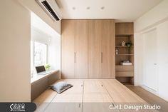 Best Indoor Garden Ideas for 2020 - Modern Wood Bedroom, Small Room Bedroom, Small Rooms, Small Apartments, Bedroom Decor, Interior Design Minimalist, Minimalist Bedroom, Condo Interior, Home Interior Design