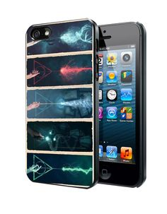 Harry Potter Deathly Hallows Expecto Patronum Samsung Galaxy S3 S4 S5 Note 3 Case, Iphone 4 4S 5 5S 5C Case, Ipod Touch 4 5 Case