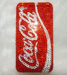 Soft Drink - Bling Phone Cases. Dang they think of everything!!!!