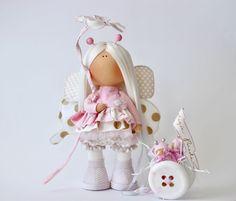 Купить Сказочное счастье - кукла ручной работы, кукла в подарок, кукла интерьерная, кукла текстильная