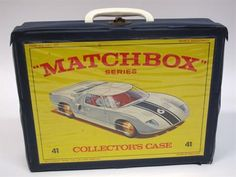 Lot 166 – 1960`s Matchbox Carry Case, – Vintage Toys and Militaria 08 Jan 2014 http://www.candtauctions.co.uk/