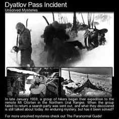 The Dyatlov Pass Incident - The hikers were students or recent graduates of Ural Polytechnic Institute, which has since been renamed Ural State Technical University, of which, Boris Yeltsin is an alumni.