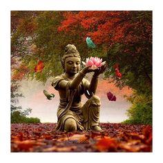 5D Buddha Holding Lotus Diamond Painting Embroidery Diy Cross Stitch Home Decor