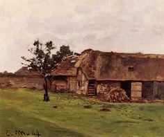 Claude Monet - Ferme près de Honfleur