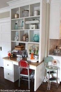 Open Kitchen Shelving Styling