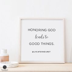 """""""Honoring God leads to good things."""" Lysa TerKeurst // Some situations can make us feel very mean. CLICK for wisdom on how to react in a way that honors God."""