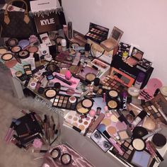 my make up collection