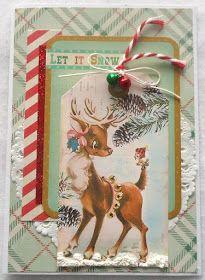 Kort og andet godt: Endnu et julekort i retro-stil