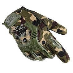 99a08843a Army Combat Tactical Gloves Men Full Finger Camouflage Paintball Military  Gloves SWAT Soldier Shoot Bicycle Mittens handschoenen