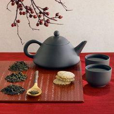 A beautiful tea setting. #allabouttea #teaceremony
