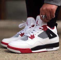 074222aaa7a87 air jordan fire red iv s 😍 Nike Kicks
