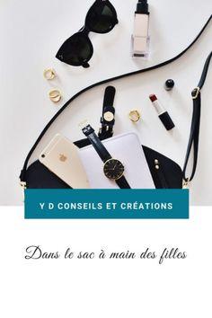 Dans les sacs à main des filles. Creations, Pouch, Purse, Banknote, Travel Bags, Wallet