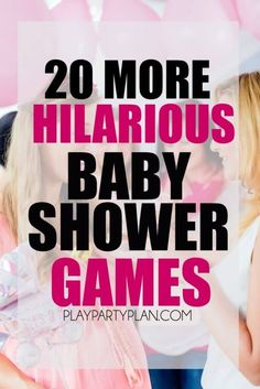 Twenty hilarious baby shower games that are perfect for all types of guests!