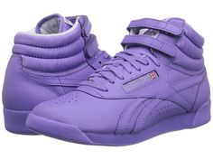f11f935a641b7b Reebok lifestyle freestyle hi spirit coral glow white. White High Top  SneakersPurple ...