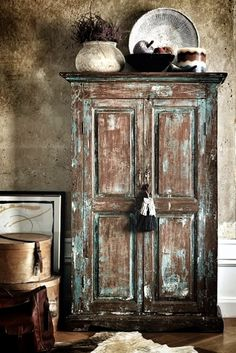 rustic armoire-just the style not necessarily the finish
