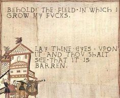 Bayeux Tapestry memes - for the win Mary Xmas, Bayeux Tapestry, Medieval Tapestry, Thats The Way, Retro, Make Me Smile, I Laughed, Funny Pictures, Funny Pics