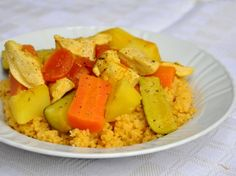 Gluten free cous cous - Cous cous alla marocchina senza glutine
