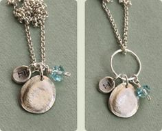 Embellish Your Fingerprint Charm Jewelry :: Imprecious :: Shop