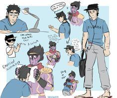 breathing is a JoJo reference Jojo's Bizarre Adventure Anime, Jojo Bizzare Adventure, Jonathan Joestar, Manga Anime, Jojo Anime, Familia Anime, Jotaro Kujo, Jojo Memes, Jojo Bizarre