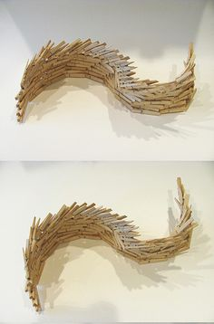 clothes pin sculpture - Google Search