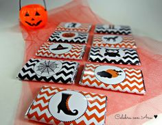 Chocolatinas de Halloween
