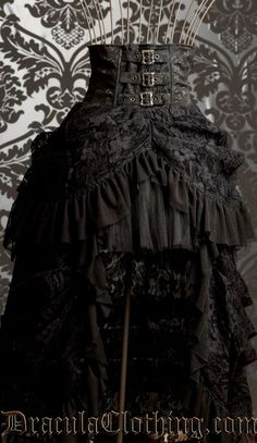 From DraculaClothing.com. They also have a line of corsets and some Delish Steampunk baby. <3