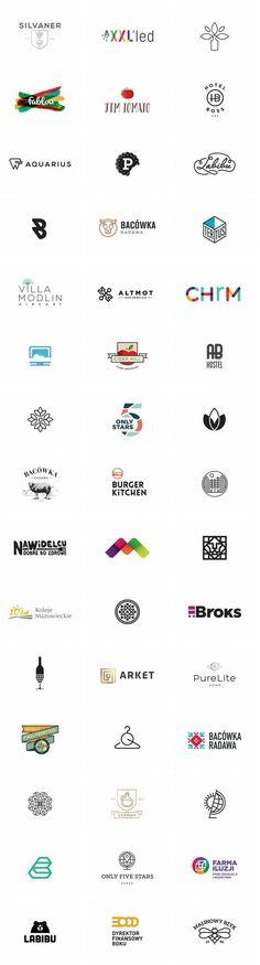 A big collection of well designed logos by Klaudia Szymańska. Klaudia Szymańska was born in 1987. She graduated at Polish - Japanese Institue of Informatio